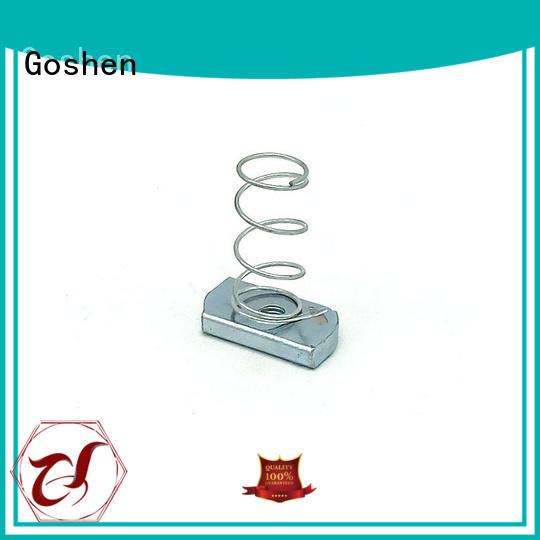 Goshen fashion square nuts and bolts for wholesale for engineering
