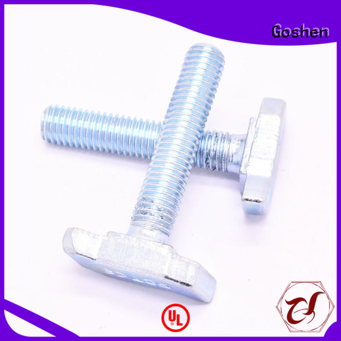 Goshen brushed t handle bolt vendor for construction
