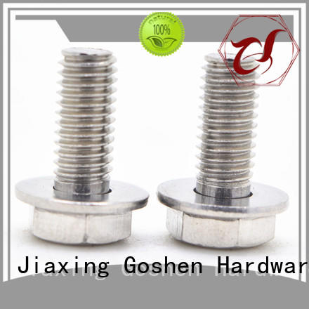 Goshen combination screws overseas market for bridge