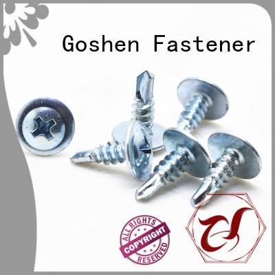 Goshen stainless steel self drilling screw types for construction
