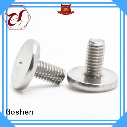 Goshen professional custom titanium bolts manufacturer for engineering
