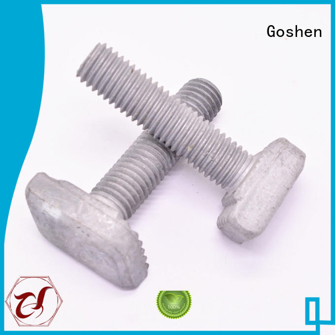 brushed custom bolts and fasteners series for construction