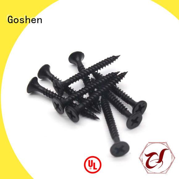 Goshen drywall anchor screws marketing for bridge