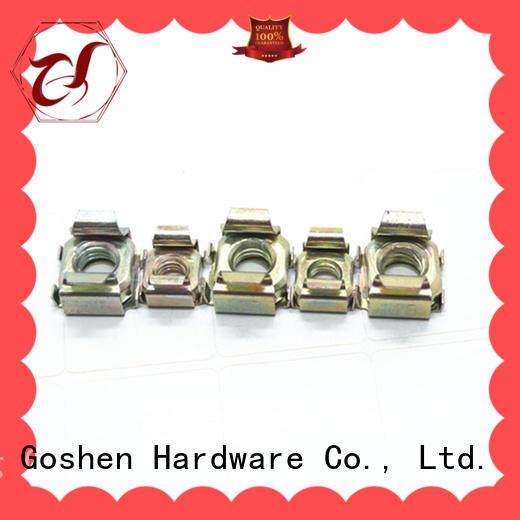 Goshen stainless steel square nut socket types for bridge