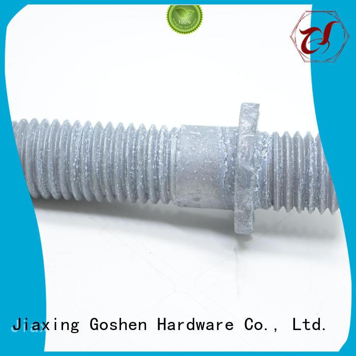 Goshen fashion design stud bolt grade 8.8 free design for construction