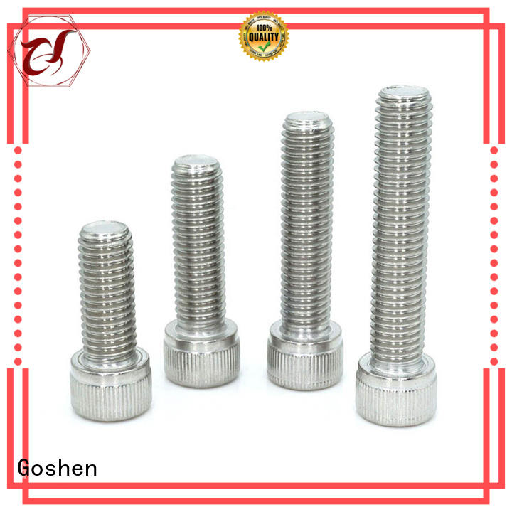 Goshen professional pan head allen bolt for manufacturer for bridge