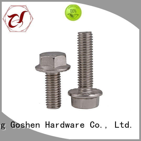 Goshen serrated flange bolt overseas market for bridge