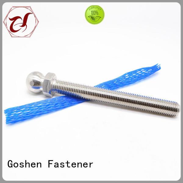 Goshen OEM screw eye bolt customized for engineering