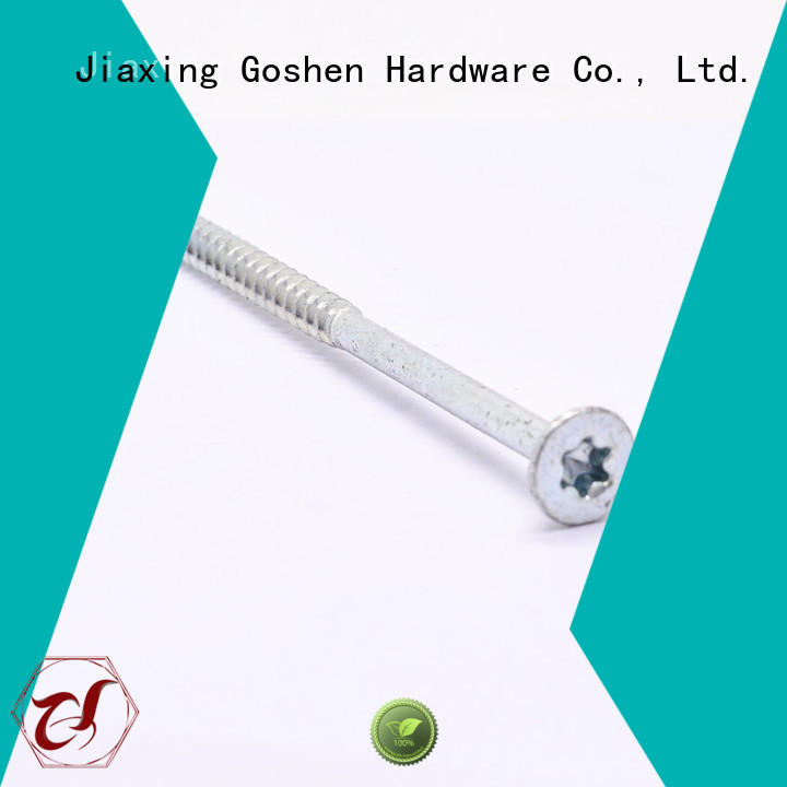 Goshen black self tapping metal screws for wholesale for engineering