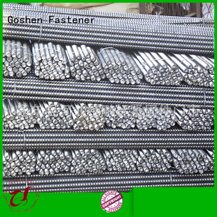 Goshen professional grade 8 threaded rod factory price for construction