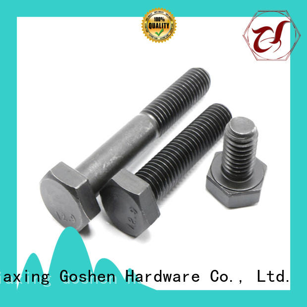 Goshen metric hex bolts for wholesale for construction