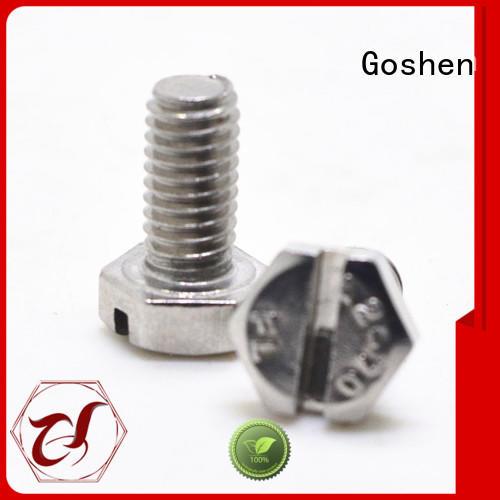 Goshen custom flat washers supplier for bridge