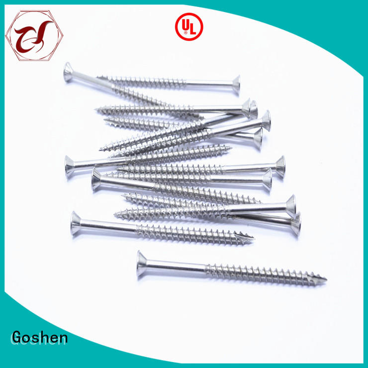 Goshen widely used best screws for chipboard for construction