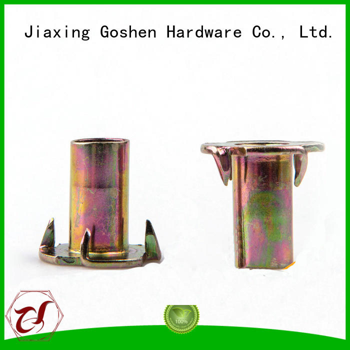 Goshen high quality t nuts and bolts dropshipping for engineering