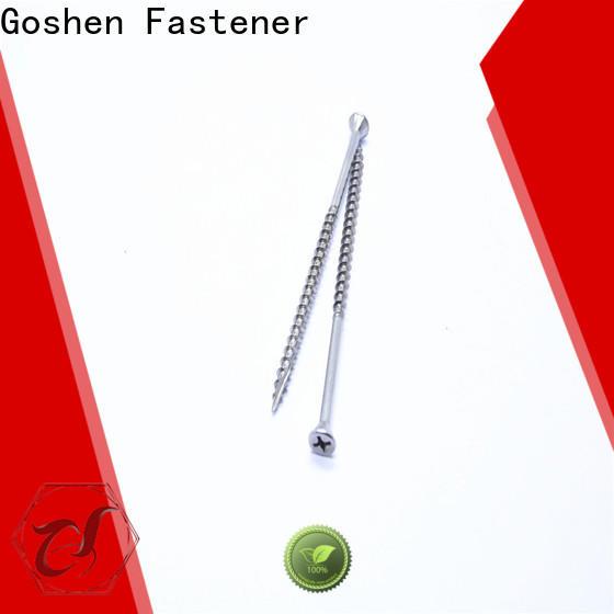 Goshen best screws for chipboard marketing for bridge